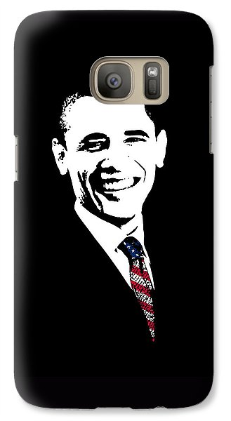 Barack Obama Galaxy S7 Case - Obama Graphic by War Is Hell Store