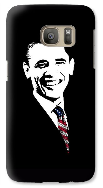Obama Galaxy S7 Case by War Is Hell Store