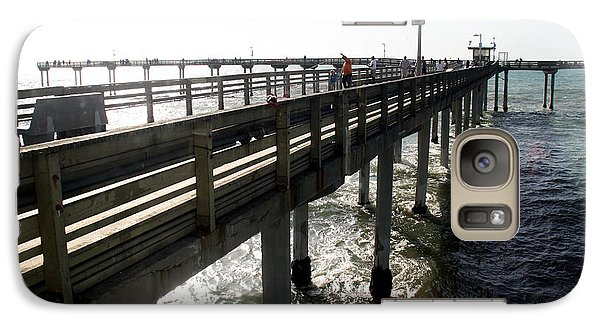 Galaxy Case featuring the photograph Ocean Beach Pier by Christopher Woods