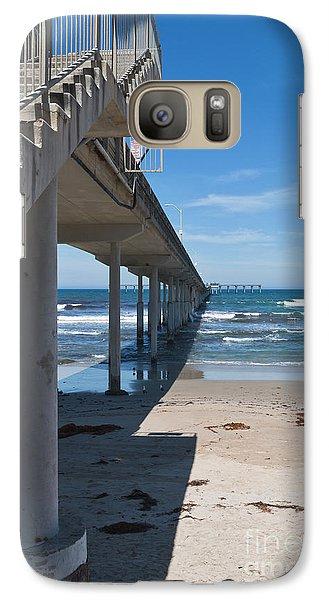 Ocean Beach Pier Stairs Galaxy S7 Case