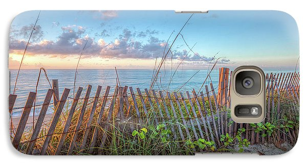 Galaxy Case featuring the photograph Ocean Blues by Debra and Dave Vanderlaan