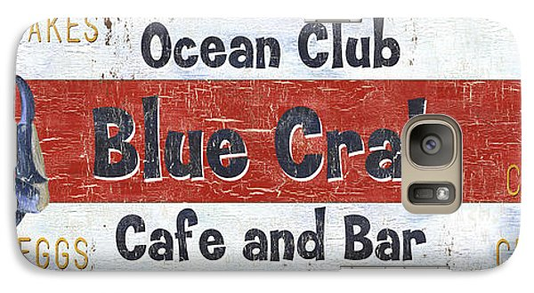 Ocean Club Cafe Galaxy S7 Case by Debbie DeWitt