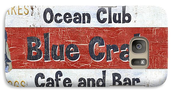 Catfish Galaxy S7 Case - Ocean Club Cafe by Debbie DeWitt