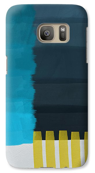 Ocean Front Walk- Art By Linda Woods Galaxy S7 Case