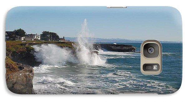 Galaxy Case featuring the photograph Ocean Geyser by Garnett  Jaeger