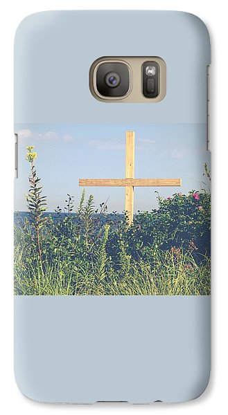 Galaxy Case featuring the photograph Ocean Grove Cross by Eleanor Abramson