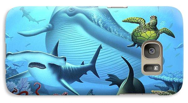 Nurse Shark Galaxy S7 Case - Ocean Life by Jerry LoFaro
