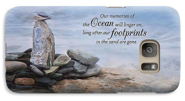 Galaxy Case featuring the photograph Ocean Memories by Robin-Lee Vieira