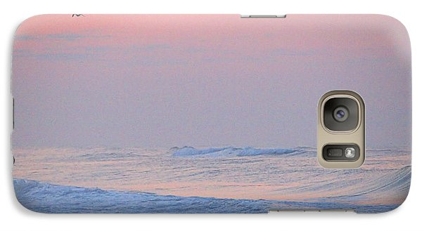 Galaxy Case featuring the photograph Ocean Peace by  Newwwman