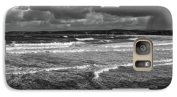 Galaxy Case featuring the photograph Ocean Storms by Nicholas Burningham