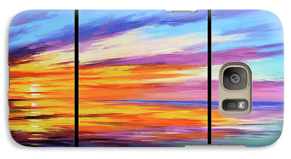 Ocean Sunset Galaxy S7 Case