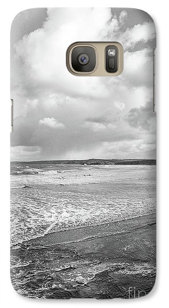 Galaxy Case featuring the photograph Ocean Texture Study by Nicholas Burningham