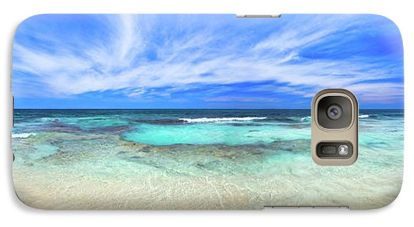 Galaxy Case featuring the photograph Ocean Tranquility, Yanchep by Dave Catley