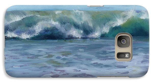 Galaxy Case featuring the painting Ocean Zen by Sandy Fisher