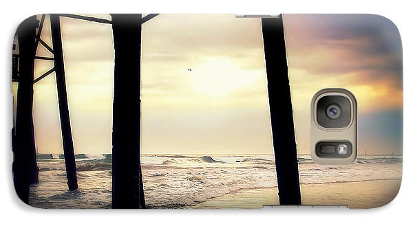 Galaxy Case featuring the photograph Oceanside - Late Afternoon by Glenn McCarthy