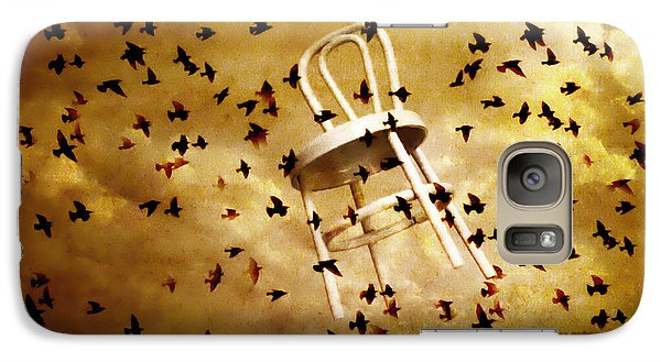 Galaxy Case featuring the photograph October by Jeff  Gettis