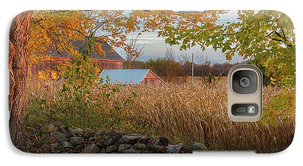 Galaxy S7 Case featuring the photograph October Morning 2016 by Bill Wakeley