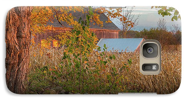 Galaxy S7 Case featuring the photograph October Morning 2016 Square by Bill Wakeley