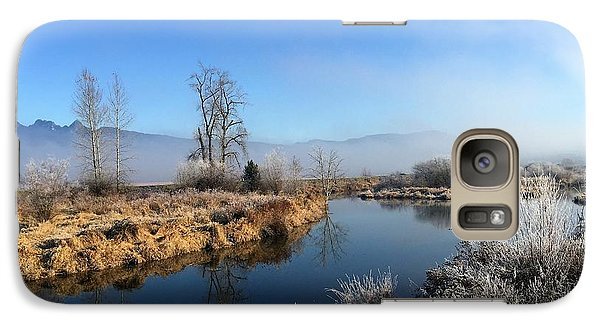 Galaxy Case featuring the photograph October Morning by Victor K