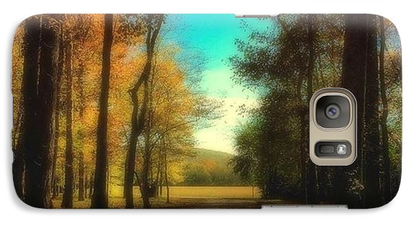 October Path Galaxy S7 Case by Steven Gordon