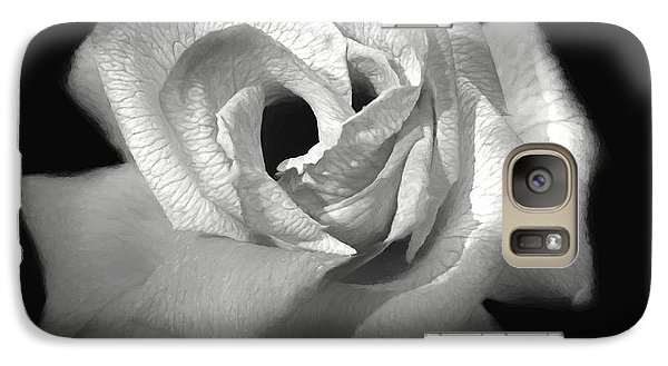 Galaxy Case featuring the photograph October Rose by Donna Kennedy