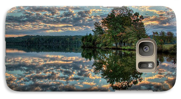 Galaxy Case featuring the photograph October Skies by Douglas Stucky