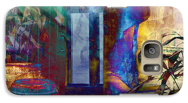 Galaxy Case featuring the photograph Ode On Another Urn by LemonArt Photography