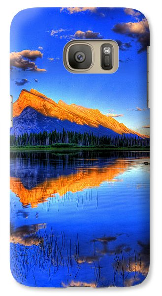 Galaxy Case featuring the photograph Of Geese And Gods by Scott Mahon