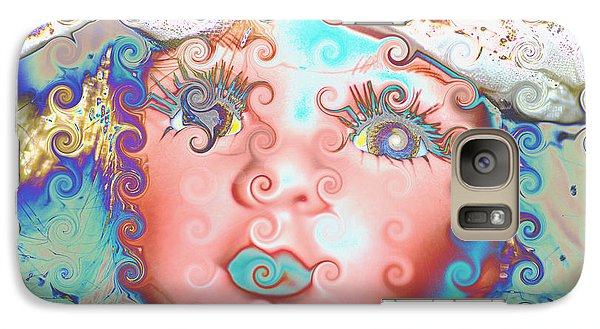 Galaxy Case featuring the digital art Of Many Colors by Holly Ethan