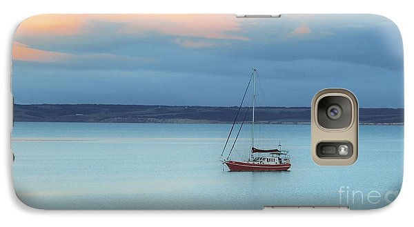 Galaxy Case featuring the photograph Off Sailing by Stephen Mitchell