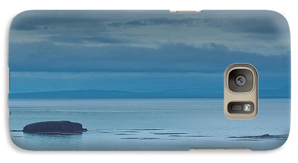 Galaxy Case featuring the photograph Off The Iceland Coast by Joe Bonita