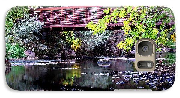 Ogden River Bridge Galaxy S7 Case