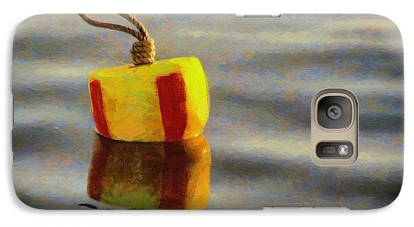 Galaxy Case featuring the painting Oh Buoy by Jeff Kolker