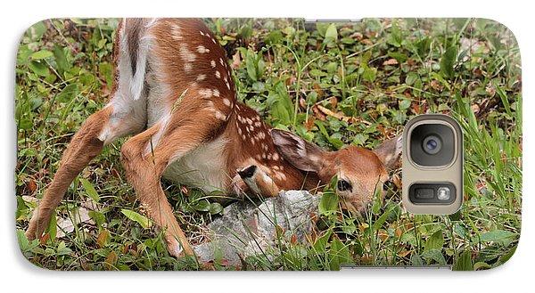 Oh Deer Little Fawn Galaxy S7 Case