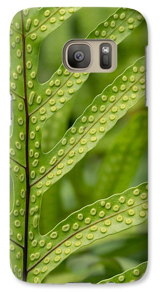 Galaxy Case featuring the photograph Oh Fern by Christina Lihani