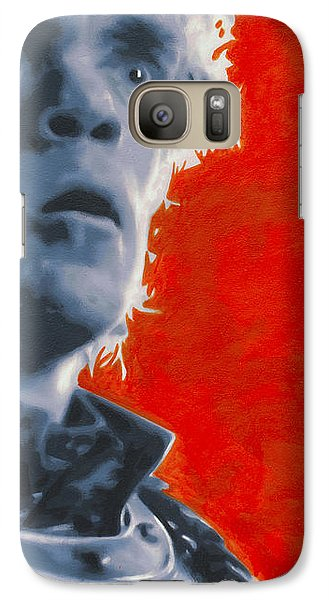 Galaxy Case featuring the painting Tyrion Lannister by Luis Ludzska