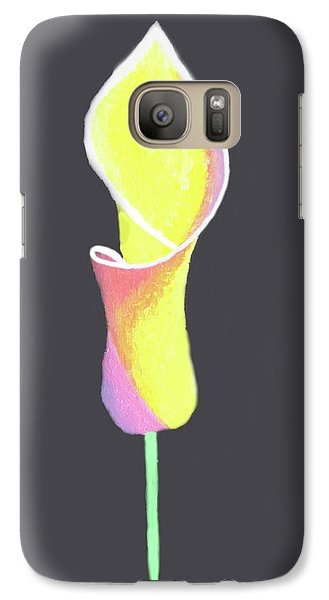 Oh Lily Galaxy S7 Case by Cyrionna The Cyerial Artist
