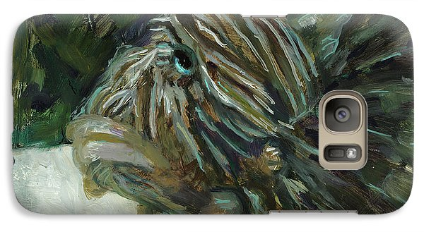 Galaxy Case featuring the painting Oh The Troubles I've Seen by Billie Colson