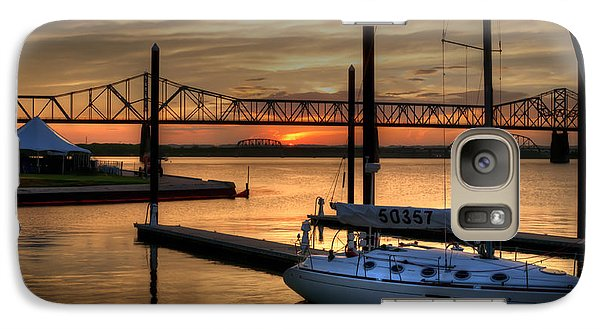 Galaxy Case featuring the photograph Ohio River Sailing by Deborah Klubertanz