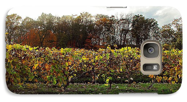 Galaxy Case featuring the photograph Ohio Winery In Autumn by Joan  Minchak