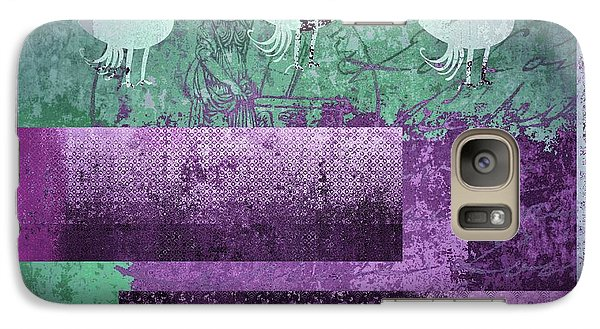 Galaxy Case featuring the digital art Oiselot 01 - J097179222-bl02a by Variance Collections