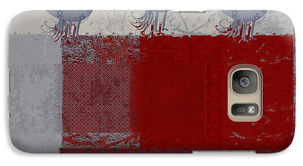 Galaxy Case featuring the digital art Oiselot - J106161103_02bb by Variance Collections