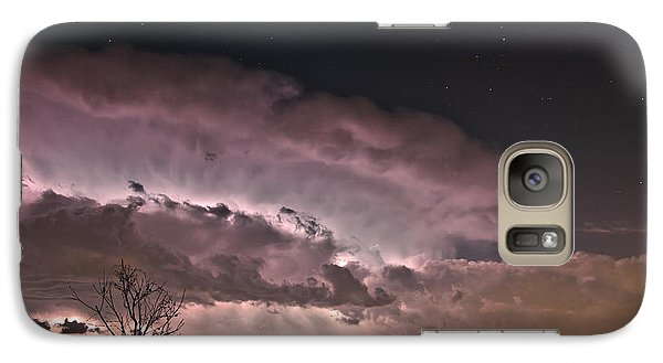 Galaxy Case featuring the photograph Oklahoma Sky Of Fire by James Menzies
