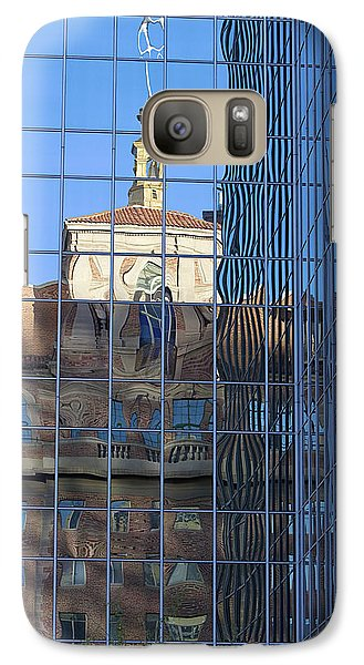 Galaxy Case featuring the photograph Old And New Patterns by Phyllis Denton