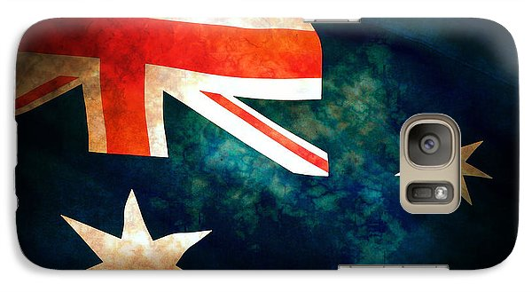 Old Australian Flag Galaxy Case by Phill Petrovic