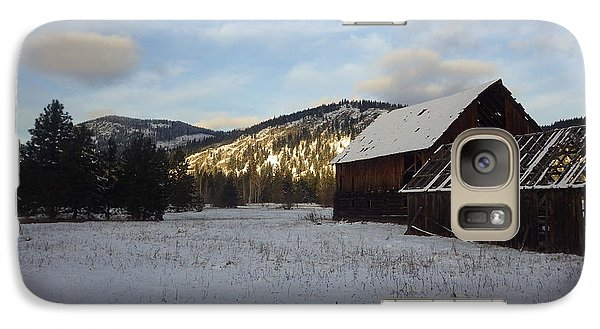 Galaxy Case featuring the photograph Old Barn 2 by Victor K