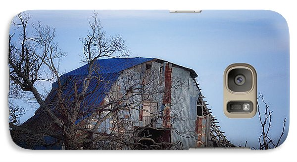 Galaxy Case featuring the photograph Old Barn At Hilltop Arkansas by Michael Dougherty