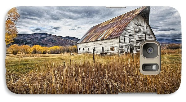 Galaxy Case featuring the photograph Old Barn In Steamboat,co by James Steele
