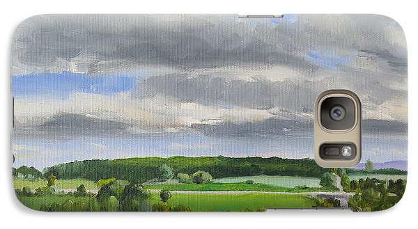 Galaxy Case featuring the painting Old Barrie Road by Jo Appleby