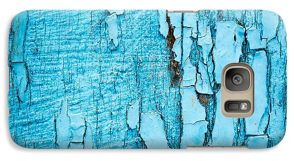 Galaxy Case featuring the photograph Old Blue Wood by John Williams